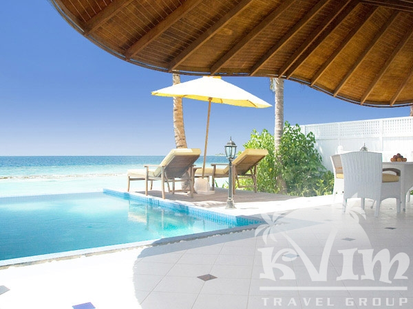 Luxury Beach Front Pool Villa