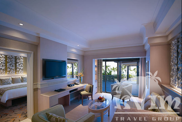 Deluxe Sea View Suite - Living room