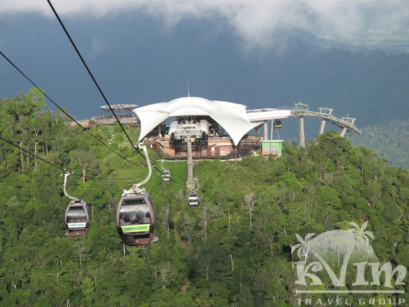 Cable Car on Langkaw