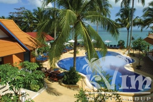 Bungalow Pool and Seaview