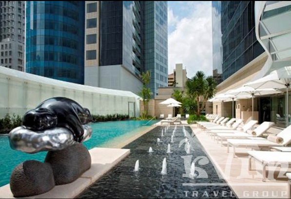 The St. Regis Singapore - Tropical Spa Pool
