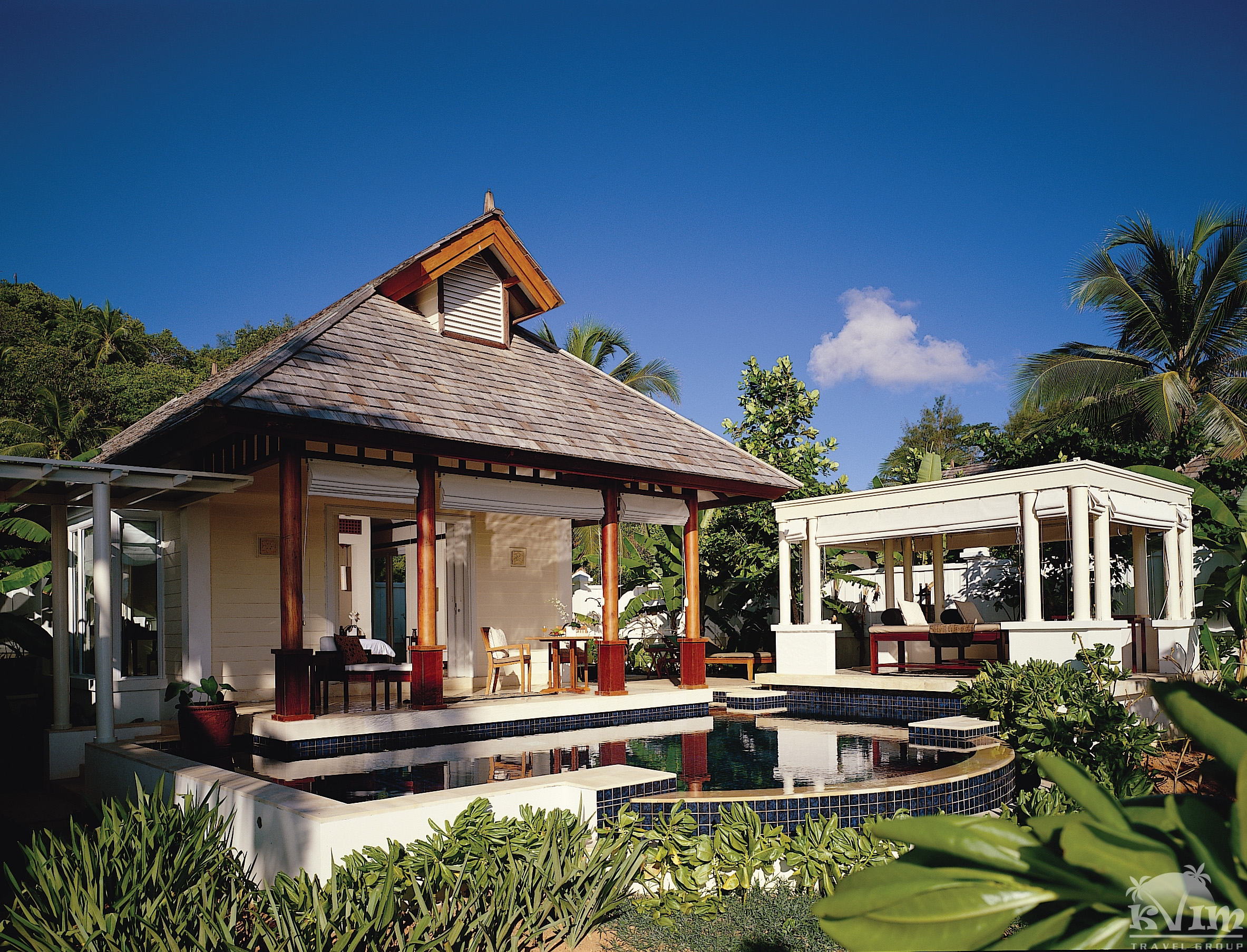 Beachfront Spa Pool Villa with Spa Pavilion